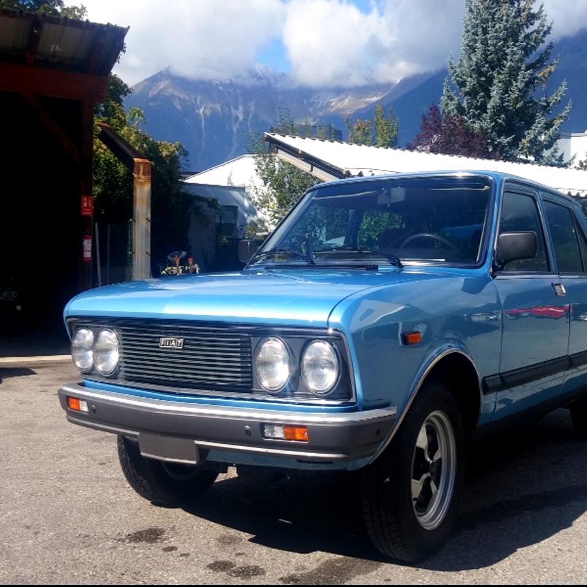 Fiat X on Fiat 128 Sl