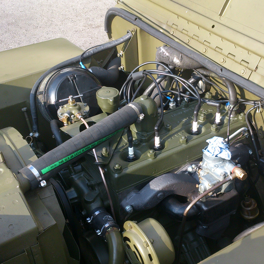 WILLYS JEEP MOTOR - Habel Automobil Restauration